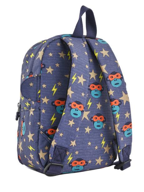 Sac A Dos Mini Kipling Bleu back to school 253 vue secondaire 3