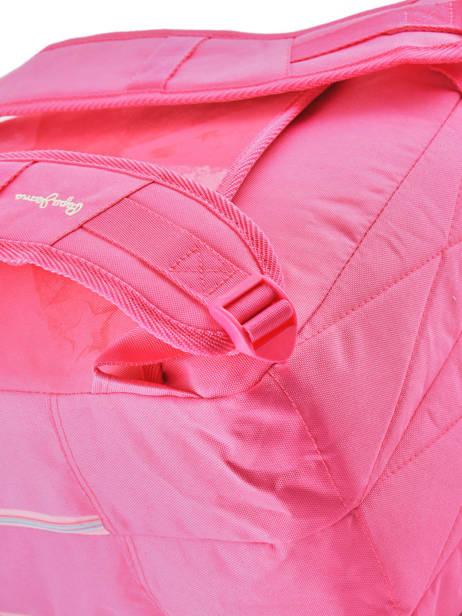 Rugzak 2 Compartimenten Pepe jeans Roze kasandra 60624 ander zicht 1