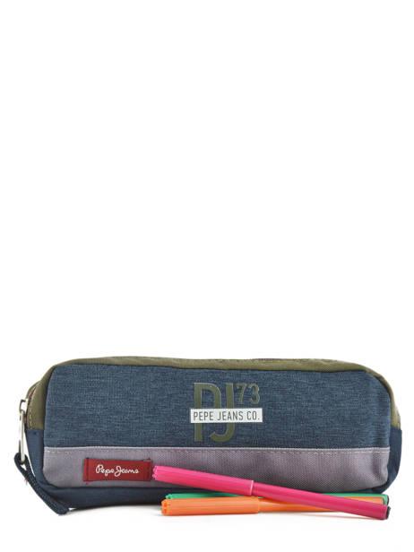 Pennenzak 1 Compartiment Pepe jeans Veelkleurig trade 60440 ander zicht 1