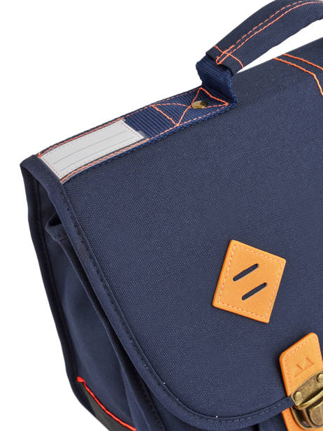 Boekentas 2 Compartimenten Poids plume Blauw visibility 8PVI1735 ander zicht 2