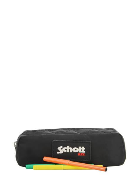 Trousse 1 Compartiment Schott Noir army 18-11701 vue secondaire 1
