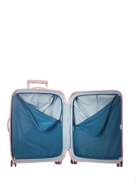 Handbagage Delsey Roze turenne 1621803 ander zicht 5