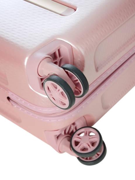 Handbagage Delsey Roze turenne 1621803 ander zicht 2
