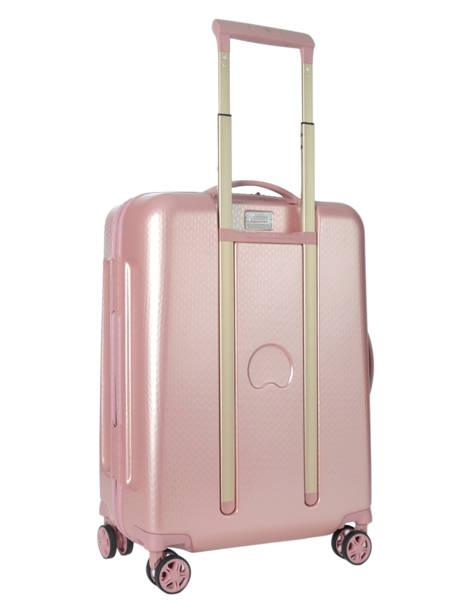 Handbagage Delsey Roze turenne 1621803 ander zicht 4
