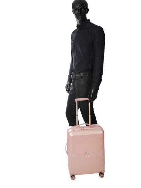 Handbagage Delsey Roze turenne 1621803 ander zicht 3