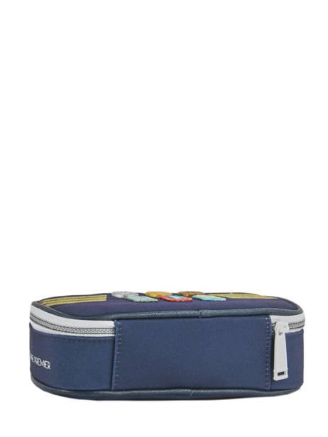 Trousse Jeune premier Bleu canvas PB18 vue secondaire 2
