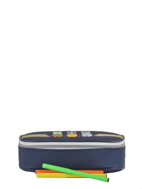 Trousse Jeune premier Bleu canvas PB18 vue secondaire 1