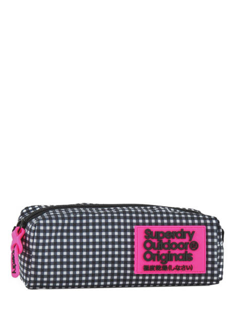 Trousse 1 Compartiment Superdry Noir accessories woomen G98120NQ