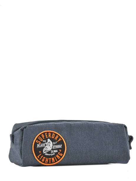 Trousse 1 Compartiment Superdry Bleu accessories men M91012NQ vue secondaire 2