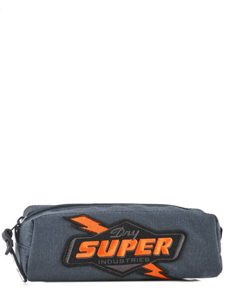 Trousse 1 Compartiment Superdry Bleu accessories men M91012NQ