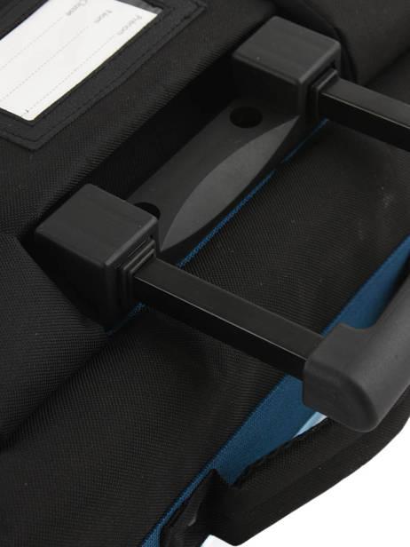 Cartable à Roulettes 2 Compartiments Olympique de marseille Bleu droit au but 183O203R vue secondaire 1