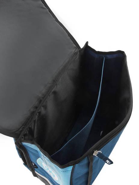 Cartable 2 Compartiments Olympique de marseille Bleu droit au but 183O203S vue secondaire 4