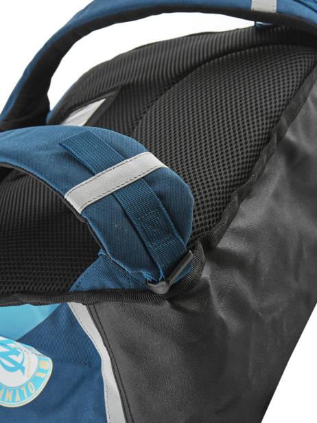 Cartable 2 Compartiments Olympique de marseille Bleu droit au but 183O203S vue secondaire 1
