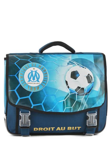 Cartable 2 Compartiments Olympique de marseille Bleu droit au but 183O203S