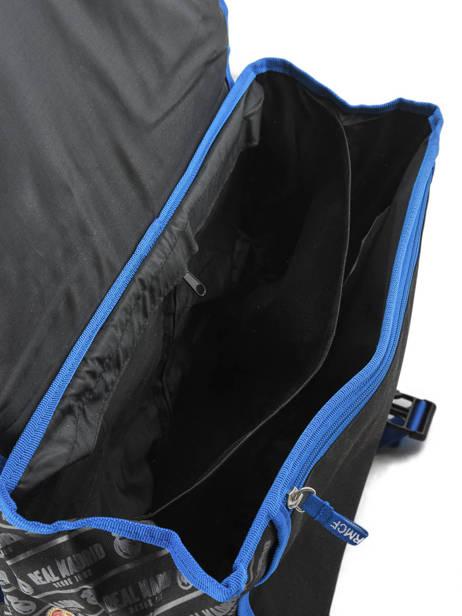 Cartable à Roulettes 2 Compartiments Real madrid Noir 1902 183R203R vue secondaire 4