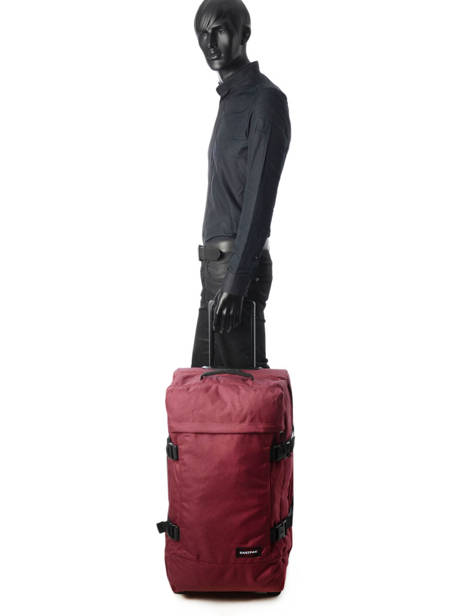 Soepele Reiskoffer Authentic Luggage Eastpak Violet authentic luggage K62L ander zicht 2