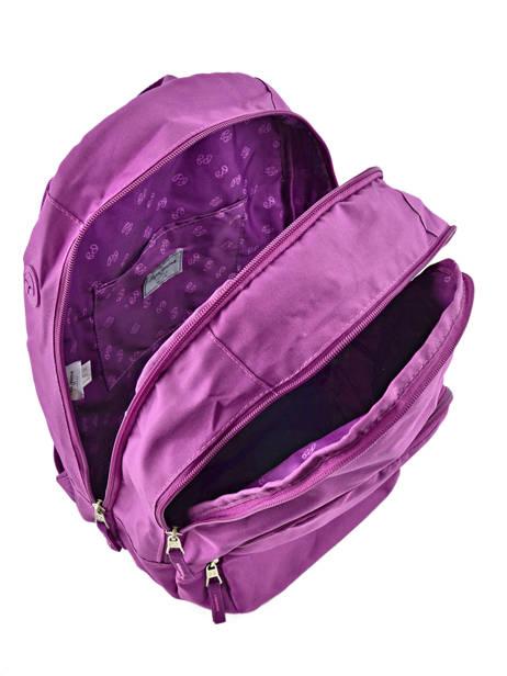 Sac à Dos 2 Compartiments Pepe jeans Violet harlow 66824 vue secondaire 6