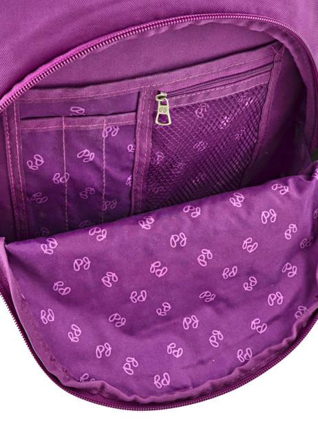 Sac à Dos 2 Compartiments Pepe jeans Violet harlow 66824 vue secondaire 7