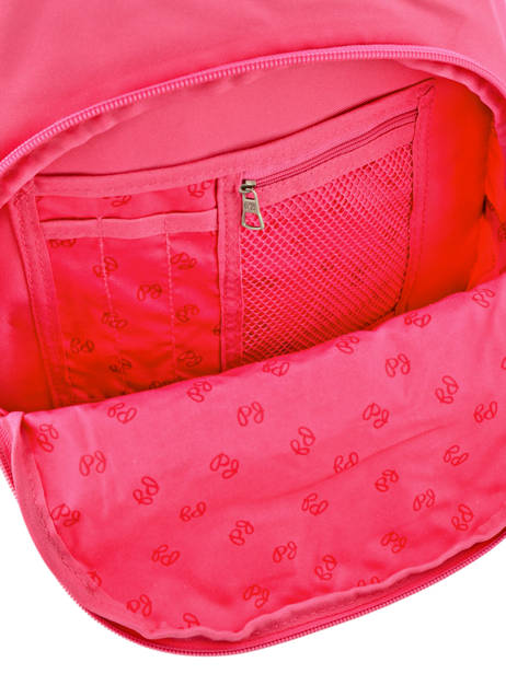 Rugzak 2 Compartimenten Pepe jeans Roze harlow 66824 ander zicht 7