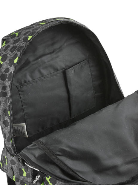 Sac à Dos 1 Compartiment Superdry Noir backpack woomen G91001JR vue secondaire 4