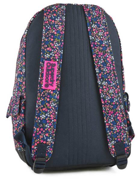 Sac à Dos 1 Compartiment Superdry Rose backpack woomen G91007JR vue secondaire 3