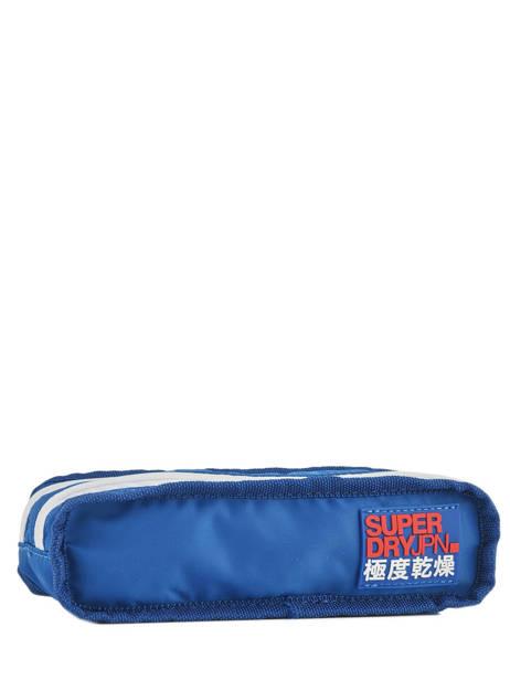 Trousse 2 Compartiments Superdry Noir accessories men M98006SR vue secondaire 2