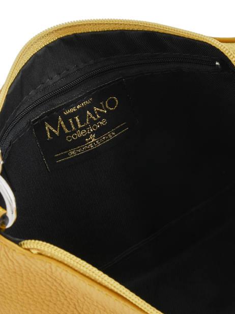 Mini-sac Caviar Cuir Milano Jaune caviar 127 vue secondaire 3