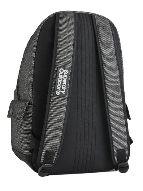 Sac à Dos 1 Compartiment Superdry Gris backpack woomen G91006JR vue secondaire 4