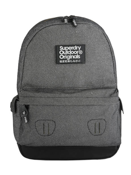 Sac à Dos 1 Compartiment Superdry Gris backpack woomen G91006JR