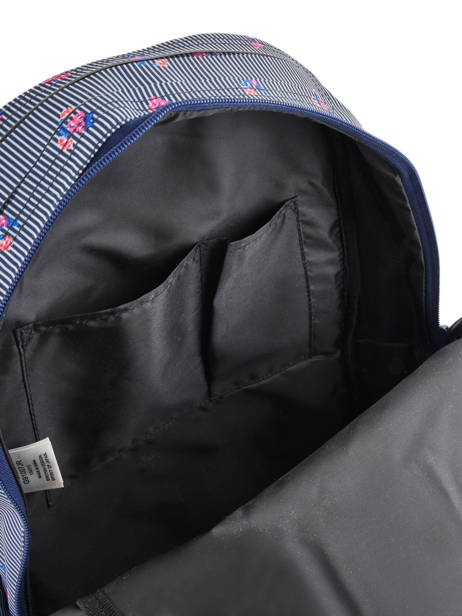 Sac à Dos 1 Compartiment Superdry Bleu backpack woomen G91007JR vue secondaire 5