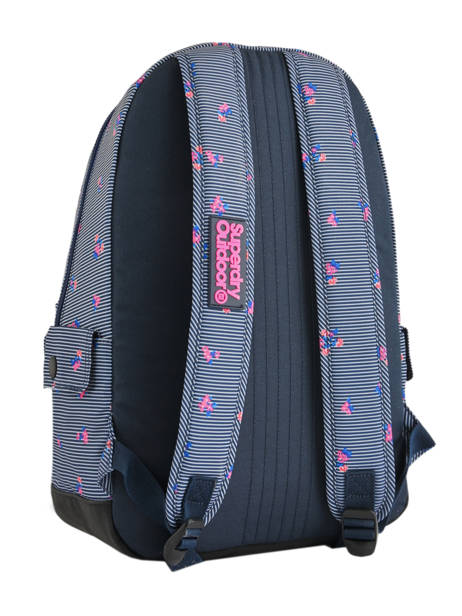 Sac à Dos 1 Compartiment Superdry Bleu backpack woomen G91007JR vue secondaire 4