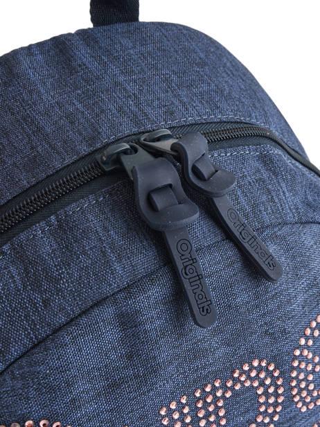 Rugzak 1 Compartiment Superdry Blauw backpack woomen G91007MR ander zicht 1