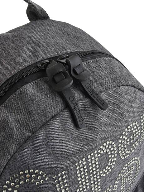 Sac à Dos 1 Compartiment Superdry Gris backpack woomen G91007MR vue secondaire 1