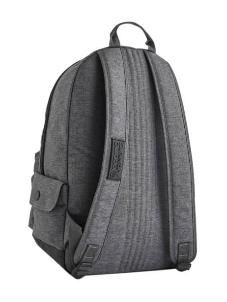 Sac à Dos 1 Compartiment Superdry Gris backpack woomen G91007MR vue secondaire 4