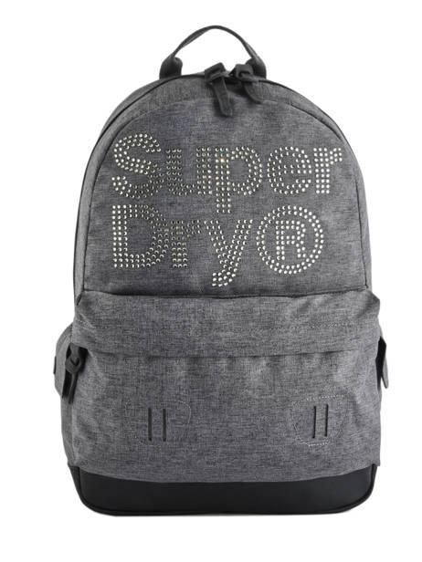Sac à Dos 1 Compartiment Superdry Gris backpack woomen G91007MR