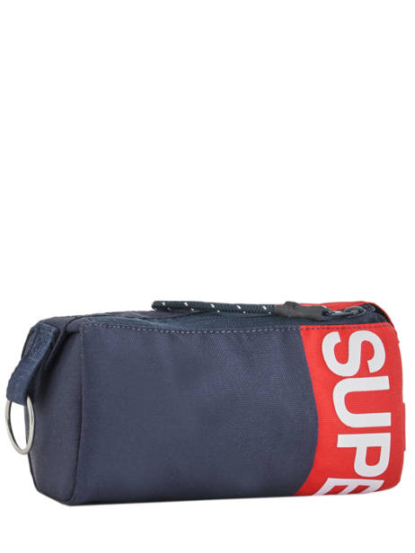 Pennenzak 1 Compartiment Superdry Blauw accessories men M98001SR ander zicht 2