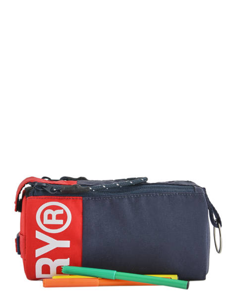Trousse 1 Compartiment Superdry Bleu accessories men M98001SR vue secondaire 1