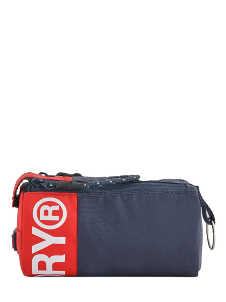 Trousse 1 Compartiment Superdry Bleu accessories men M98001SR