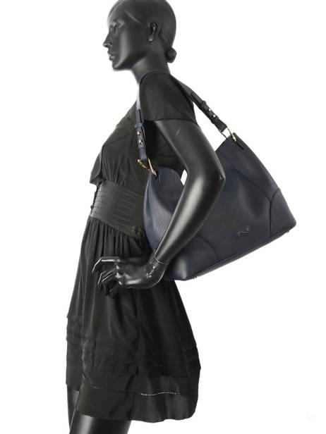 Sac Besace Victoria Cuir Nathan baume Noir victoria N1720502 vue secondaire 2