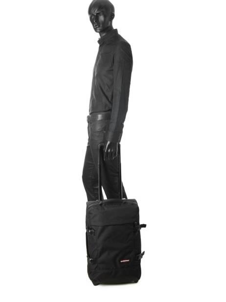 Valise Cabine Sac à Dos Eastpak Noir authentic luggage K96L vue secondaire 2