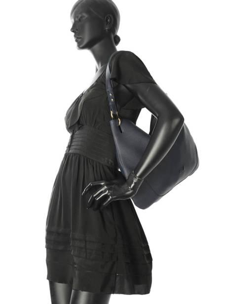 Sac Besace Victoria Cuir Nathan baume Noir victoria N1720501 vue secondaire 2