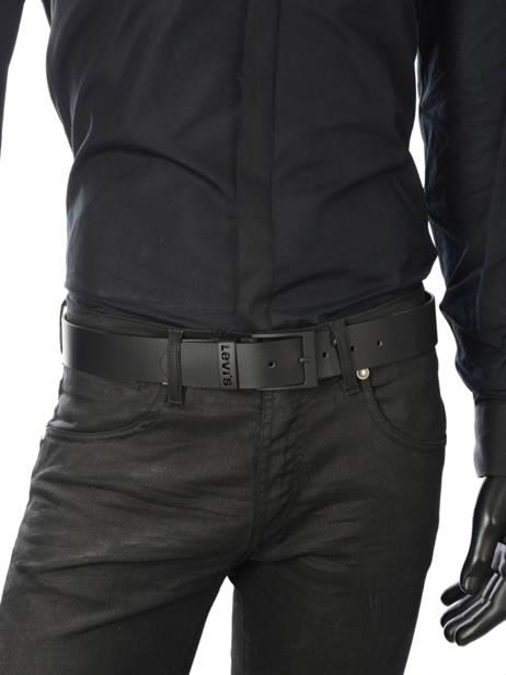 Ceinture Levi's Noir accessoires 226939 vue secondaire 2