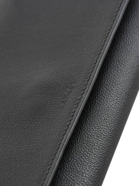 Sac Bandoulière/pochette Lison Cuir Lancel Noir lison A09397 vue secondaire 1