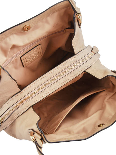 Sac Shopping Edie 31 Cuir Coach Beige edie 57125 vue secondaire 5