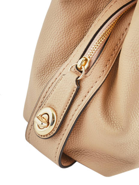 Sac Shopping Edie 31 Cuir Coach Beige edie 57125 vue secondaire 1
