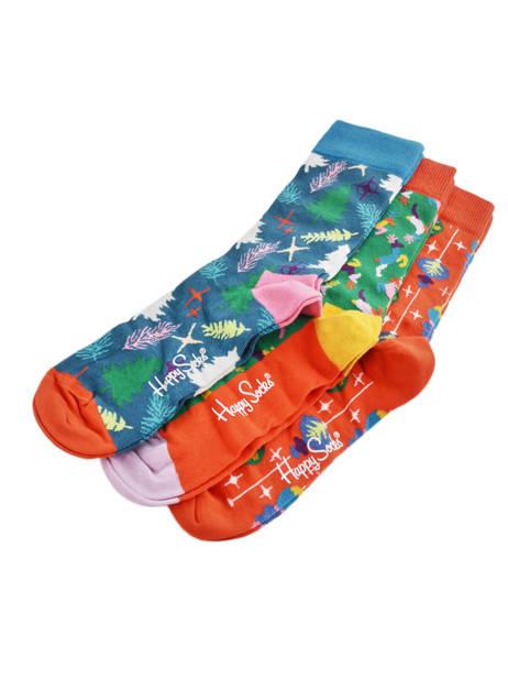 Cadeauset Sokken Xmas Happy socks Veelkleurig pack XMAS08 ander zicht 2