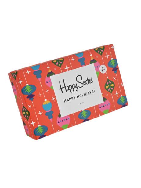 Cadeauset Sokken Xmas Happy socks Veelkleurig pack XMAS08 ander zicht 1