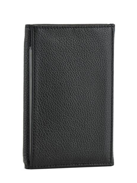 Porte-papiers Cuir Hexagona Noir encore 137661 vue secondaire 1