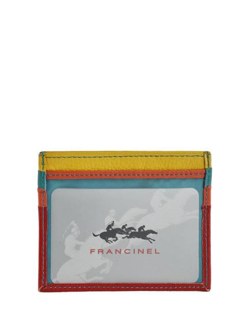 Porte-cartes Cuir Francinel Rouge cook 59902 vue secondaire 1