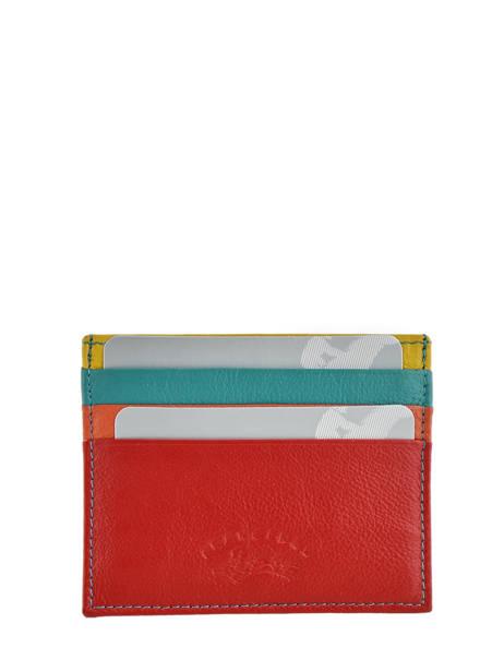 Porte-cartes Cuir Francinel Rouge cook 59902